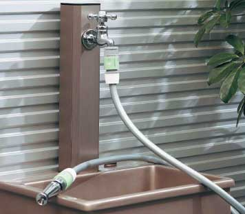 ガーデニング散水接続システムイメージ