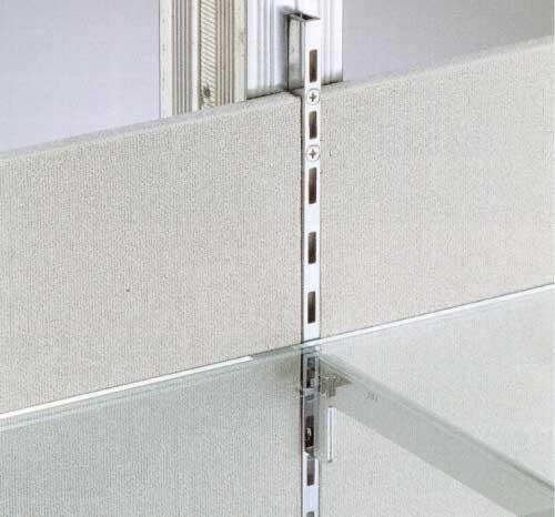 DIYリフォーム 棚受け金物-棚柱(支柱レール)イメージ