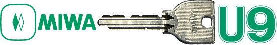 ミワ U9 メーカー純正スペアキー(合鍵) コカギ