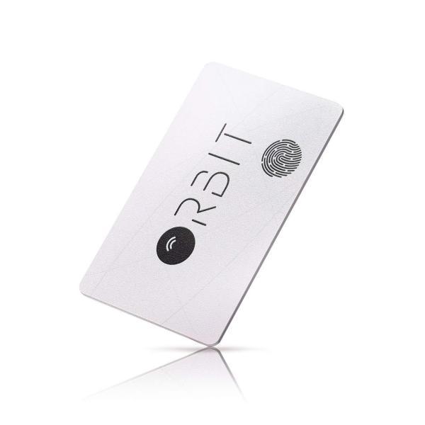 スマートタグ 紛失防止タグ 厚さわずか1.28ミリ 充電式 カード型 FINDORBIT ファインドビット ORBIT CARD 財布 忘れ物防止 置き忘れ アラーム GPS 紛失場所記録 wedge 17