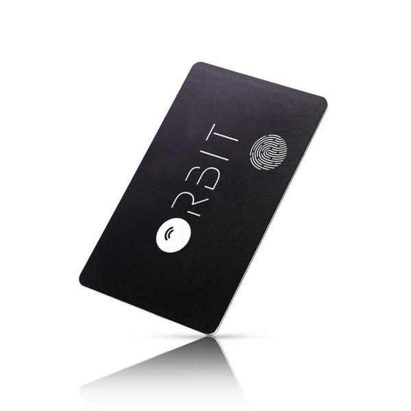 スマートタグ 紛失防止タグ 厚さわずか1.28ミリ 充電式 カード型 FINDORBIT ファインドビット ORBIT CARD 財布 忘れ物防止 置き忘れ アラーム GPS 紛失場所記録 wedge 16