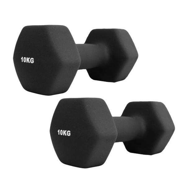 ダンベルセット カラーダンベル 10kg 2個セット エクササイズ 鉄アレイ ウエイトトレーニング 筋トレ ダイエット|weimall|12