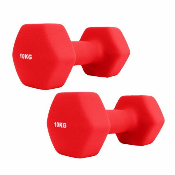 ダンベルセット カラーダンベル 10kg 2個セット エクササイズ 鉄アレイ ウエイトトレーニング 筋トレ ダイエット|weimall|07
