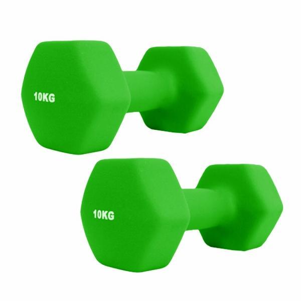ダンベルセット カラーダンベル 10kg 2個セット エクササイズ 鉄アレイ ウエイトトレーニング 筋トレ ダイエット|weimall|09