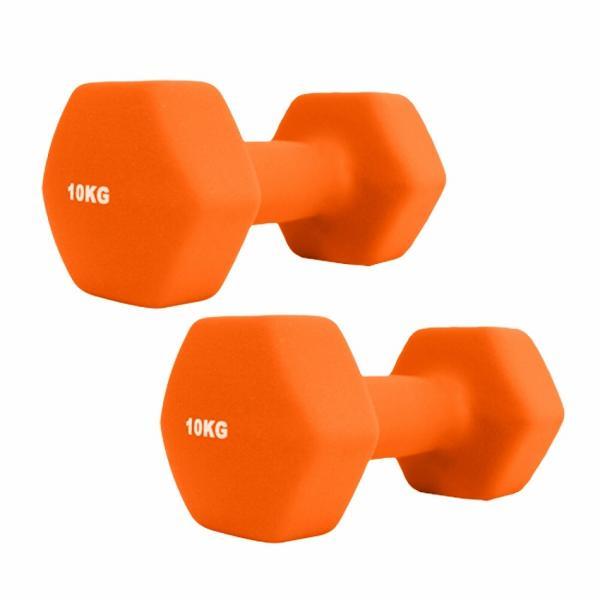 ダンベルセット カラーダンベル 10kg 2個セット エクササイズ 鉄アレイ ウエイトトレーニング 筋トレ ダイエット|weimall|10