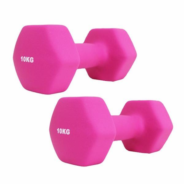 ダンベルセット カラーダンベル 10kg 2個セット エクササイズ 鉄アレイ ウエイトトレーニング 筋トレ ダイエット|weimall|11