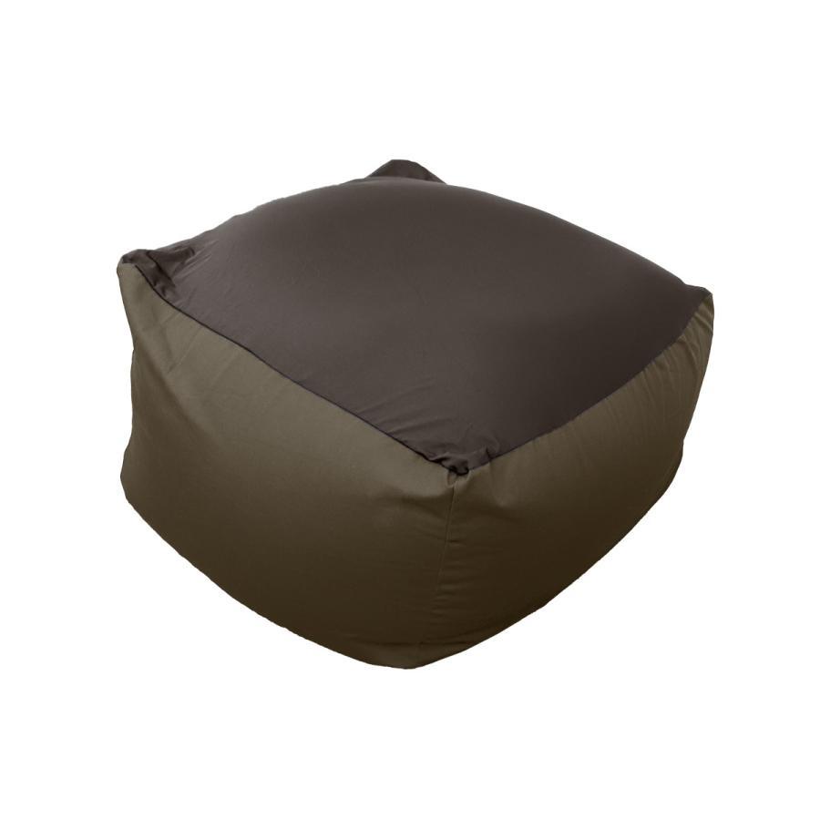ビーズクッション 2WAY 特大 ソファー 65×65cm カバー 洗濯可能 ストレッチ生地 全4色 椅子 ソファ リビング 大きい 一人用ソファ|weimall|15