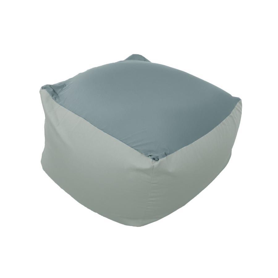 ビーズクッション 2WAY 特大 ソファー 65×65cm カバー 洗濯可能 ストレッチ生地 全4色 椅子 ソファ リビング 大きい 一人用ソファ|weimall|16