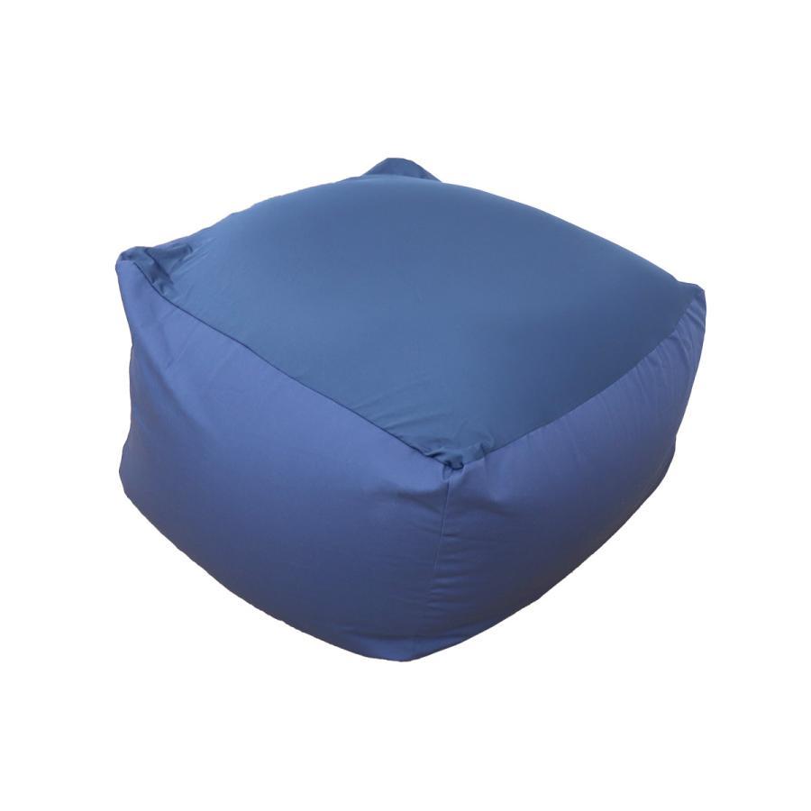 ビーズクッション 2WAY 特大 ソファー 65×65cm カバー 洗濯可能 ストレッチ生地 全4色 椅子 ソファ リビング 大きい 一人用ソファ|weimall|17