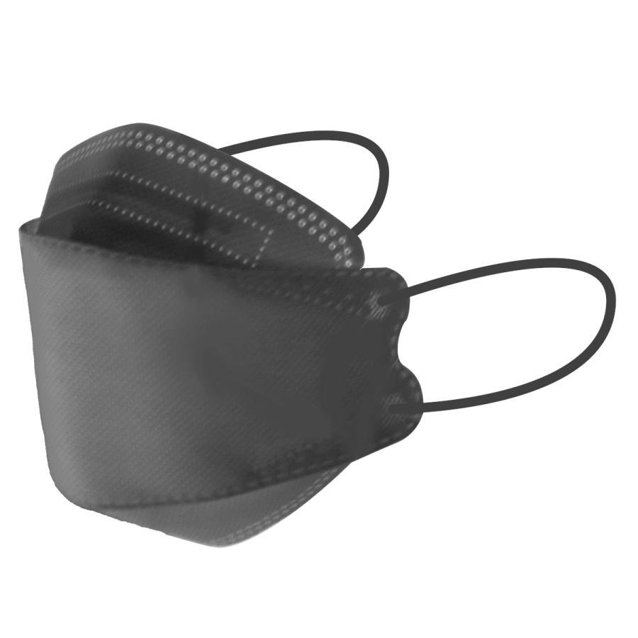 【18日迄限定クーポン】血色マスク 立体マスク 3サイズ 両面同色 5枚ずつ個包装 小さめ 子供 女性 KF94 マスク と同型 ジュエルフラップマスク 4層構造 不織布 weimall 37