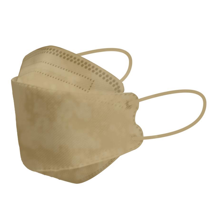 【18日迄限定クーポン】血色マスク 立体マスク 3サイズ 両面同色 5枚ずつ個包装 小さめ 子供 女性 KF94 マスク と同型 ジュエルフラップマスク 4層構造 不織布 weimall 23