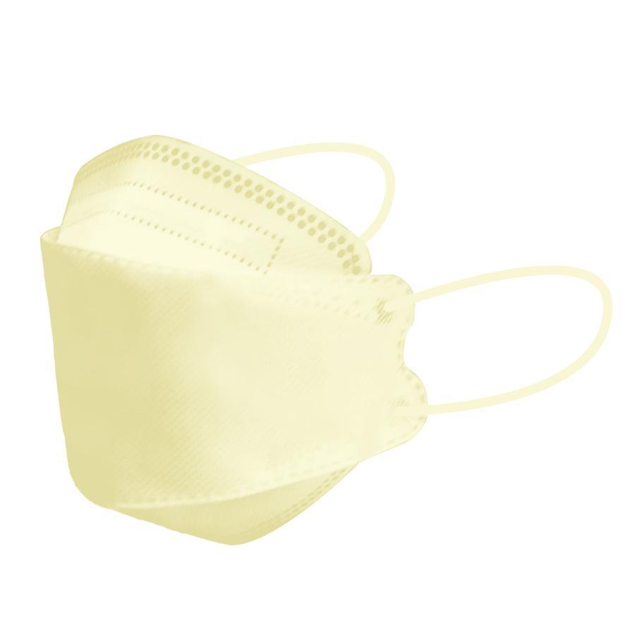 【18日迄限定クーポン】血色マスク 立体マスク 3サイズ 両面同色 5枚ずつ個包装 小さめ 子供 女性 KF94 マスク と同型 ジュエルフラップマスク 4層構造 不織布 weimall 29