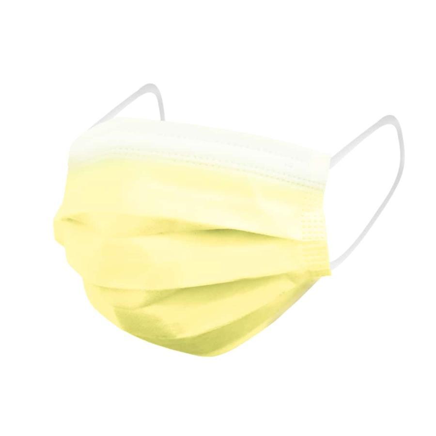 マスク カラー 50枚 全16色 平ゴム 99%カットフィルター 耳が痛くならない 使い捨てマスク 使い捨て ゆうパケット 送料無料 予8 予15 weimall 25