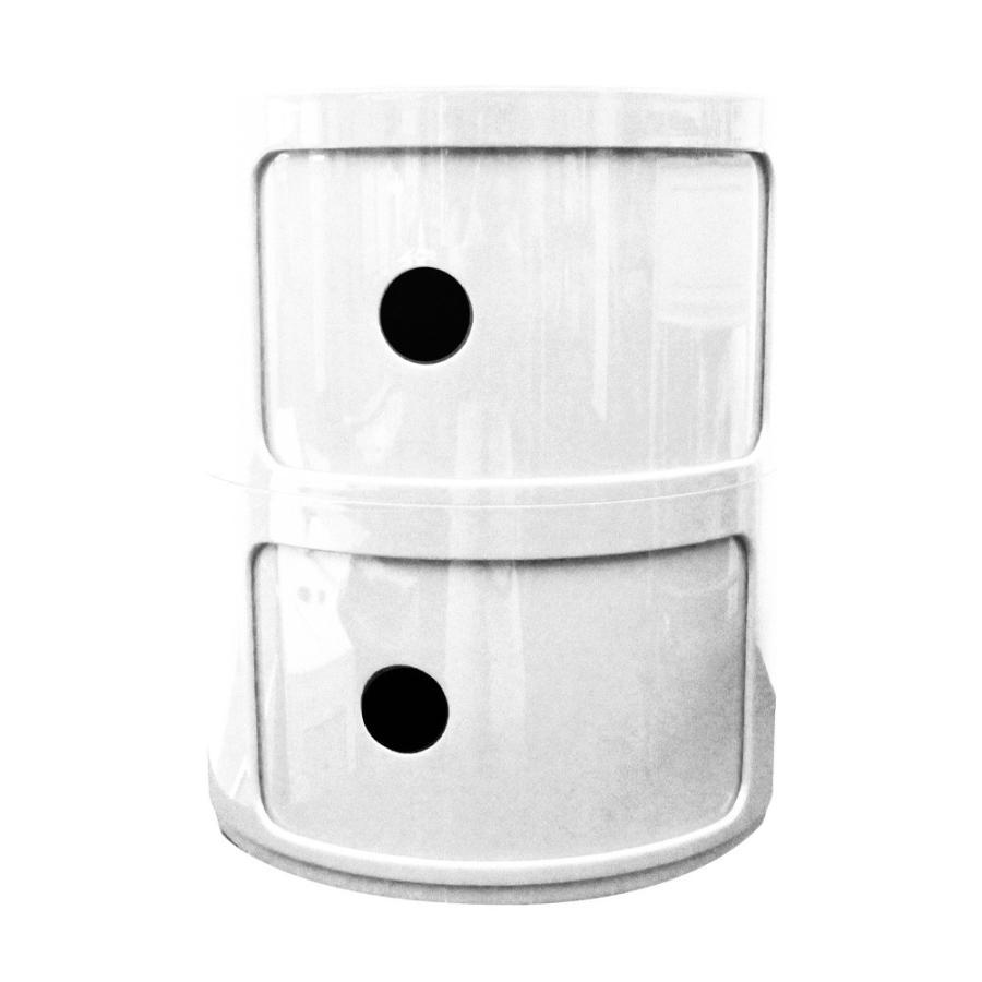 コンポニビリ リプロダクト 収納ボックス フタ付き 2段 全3色 軽量 32×32×40cm ジェネリック家具 スツール 円柱 丸型 北欧 サイドテーブル WEIMALL|weimall|13