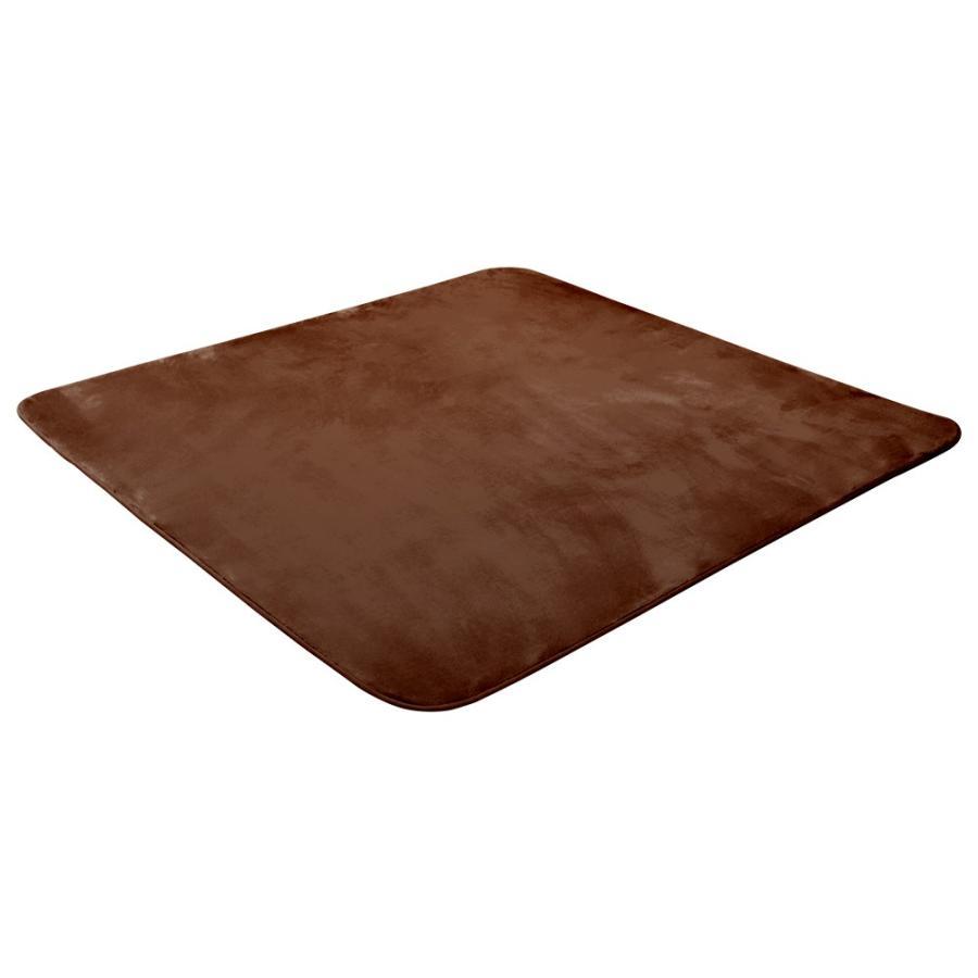 ラグ カーペット 低反発 185x185cm 約2畳 厚手25mm 洗える 抗菌 防ダニ 滑り止め付き ラグマット 低反発ウレタン 絨毯 おしゃれ WEIMALL|weimall|15