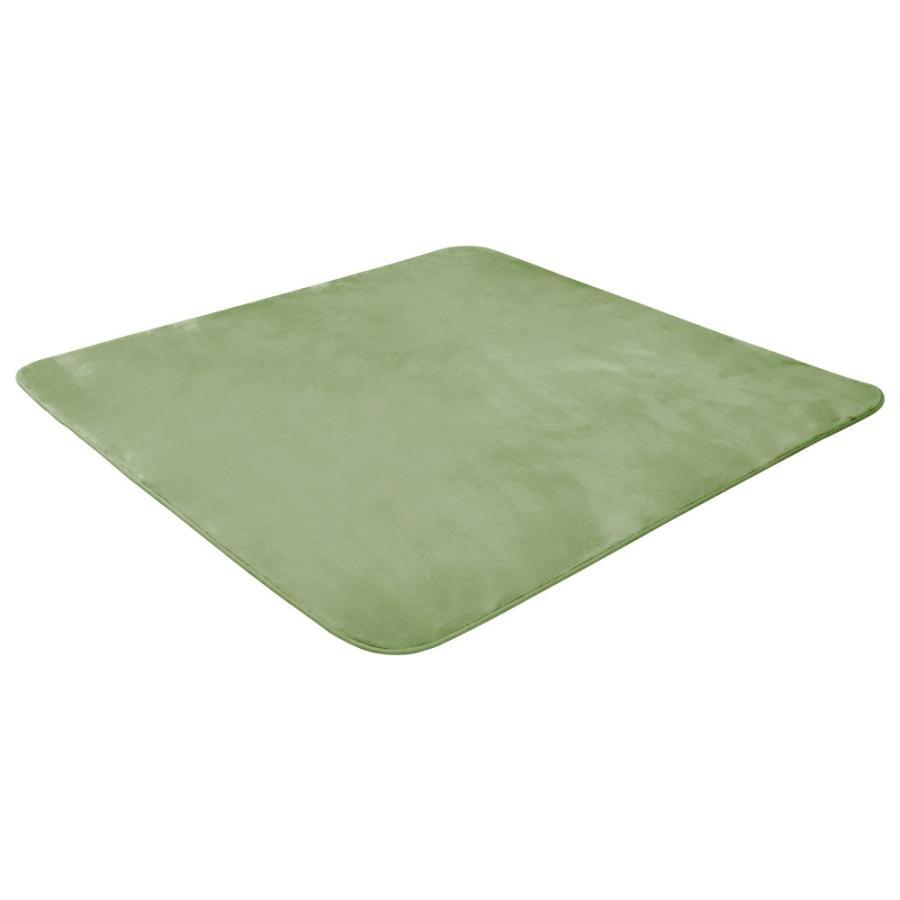 ラグ カーペット 低反発 185x185cm 約2畳 厚手25mm 洗える 抗菌 防ダニ 滑り止め付き ラグマット 低反発ウレタン 絨毯 おしゃれ WEIMALL|weimall|14