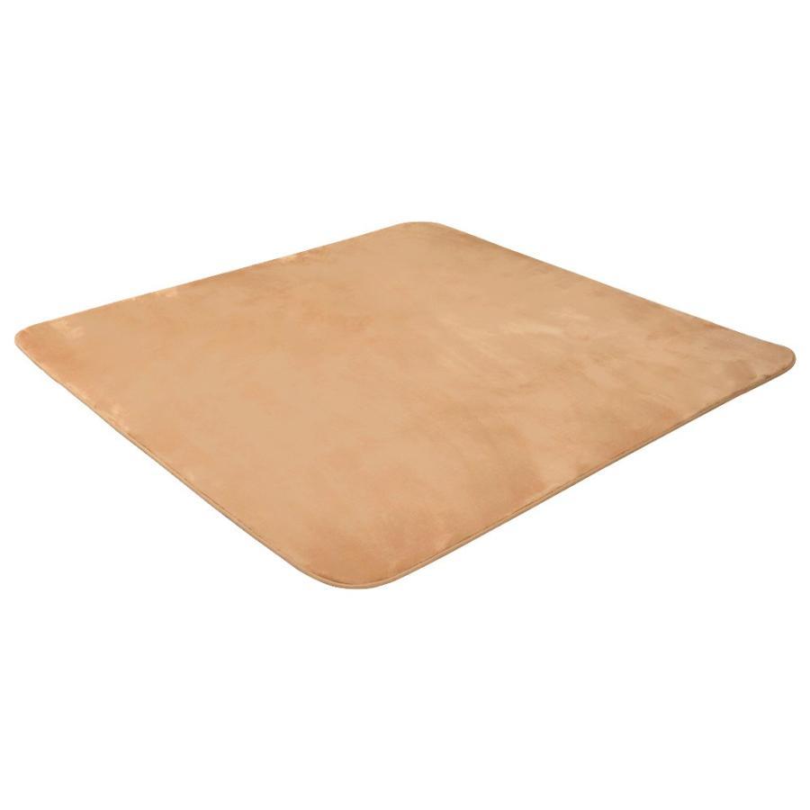 ラグ カーペット 低反発 185x185cm 約2畳 厚手25mm 洗える 抗菌 防ダニ 滑り止め付き ラグマット 低反発ウレタン 絨毯 おしゃれ WEIMALL|weimall|16