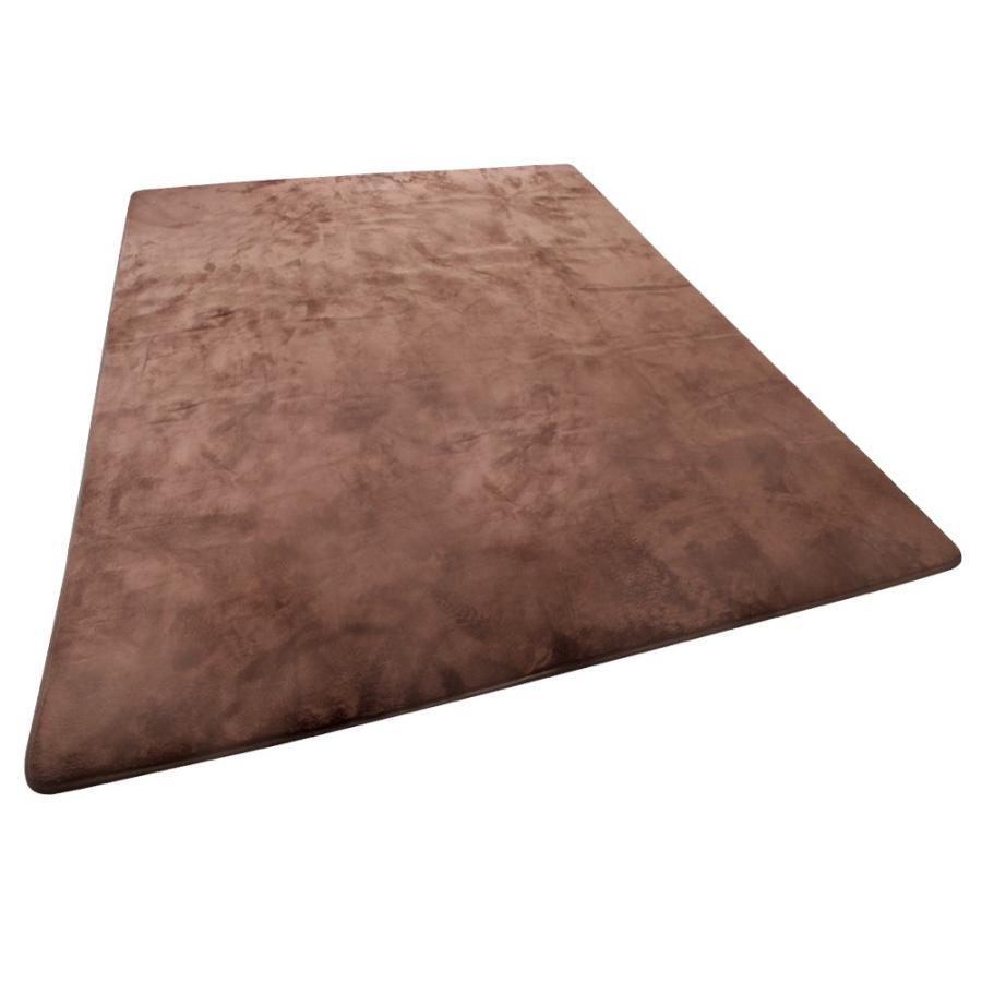 ラグ カーペット 低反発 200x250cm 約3畳 厚手25mm 洗える 抗菌 防ダニ 滑り止め付き ラグマット 低反発ウレタン 絨毯 おしゃれ WEIMALL weimall 15