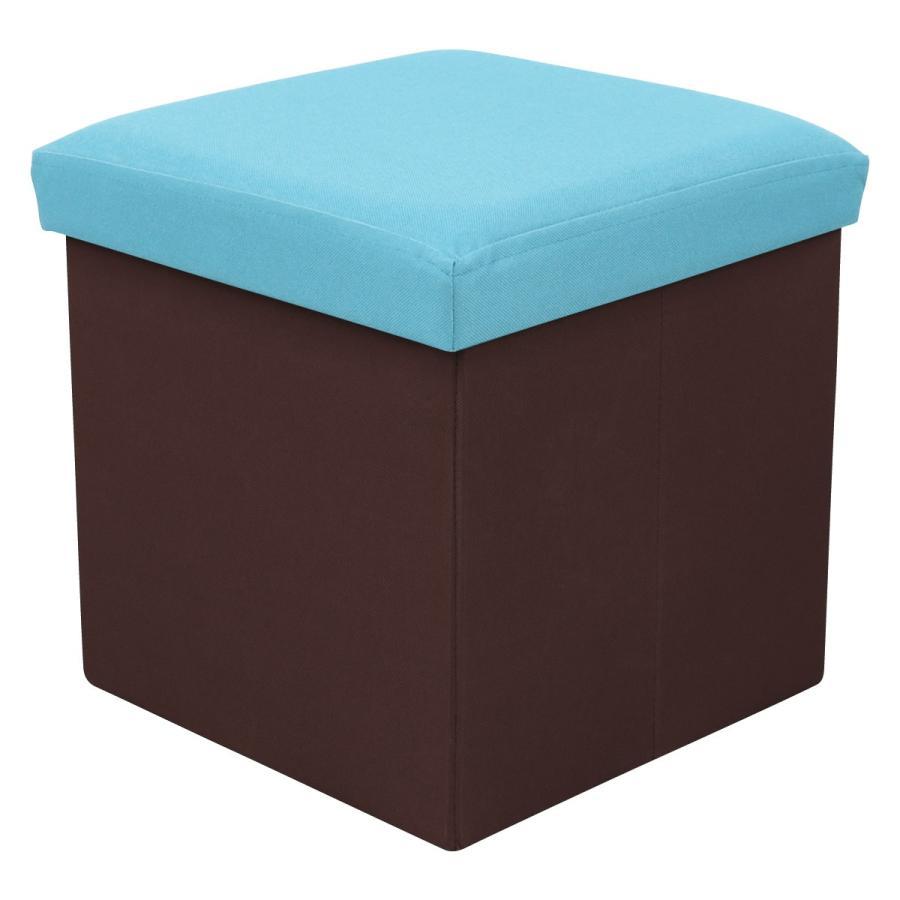 収納スツール 耐荷重100kg 折りたたみ フタ付き 収納ボックス 椅子 布製 ボックススツール オットマン おしゃれ Sサイズ おもちゃ箱|weimall|20