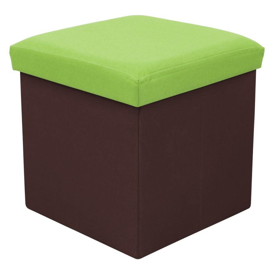 収納スツール 耐荷重100kg 折りたたみ フタ付き 収納ボックス 椅子 布製 ボックススツール オットマン おしゃれ Sサイズ おもちゃ箱|weimall|21