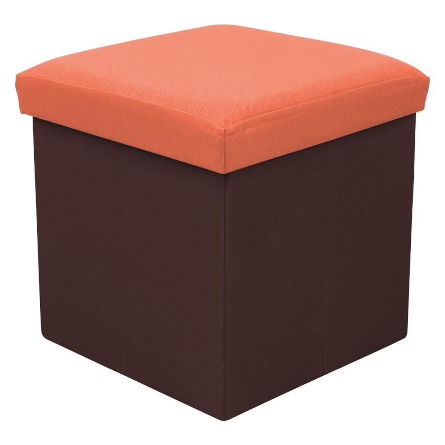 収納スツール 耐荷重100kg 折りたたみ フタ付き 収納ボックス 椅子 布製 ボックススツール オットマン おしゃれ Sサイズ おもちゃ箱|weimall|22