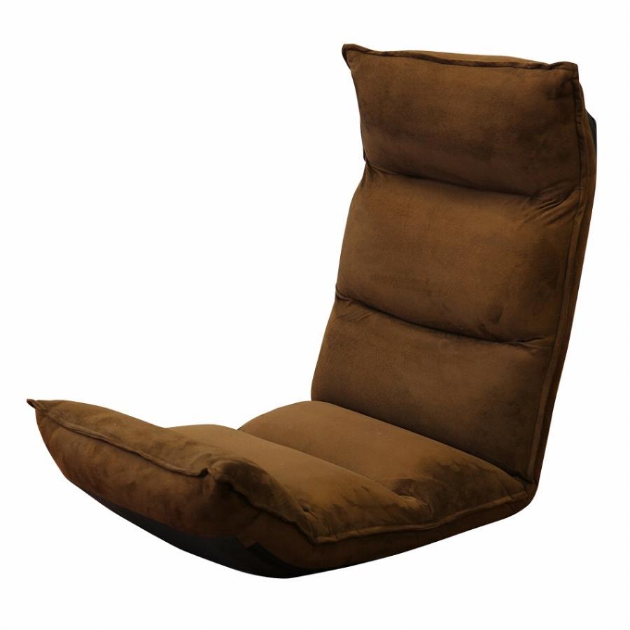 座椅子 リクライニング 低反発 ハイバック リラックス構造 メッシュ 全5色 日本製ギア コンパクト 高座椅子 チェア 1人掛け おしゃれ 腰痛 テレワーク 座いす weimall 20
