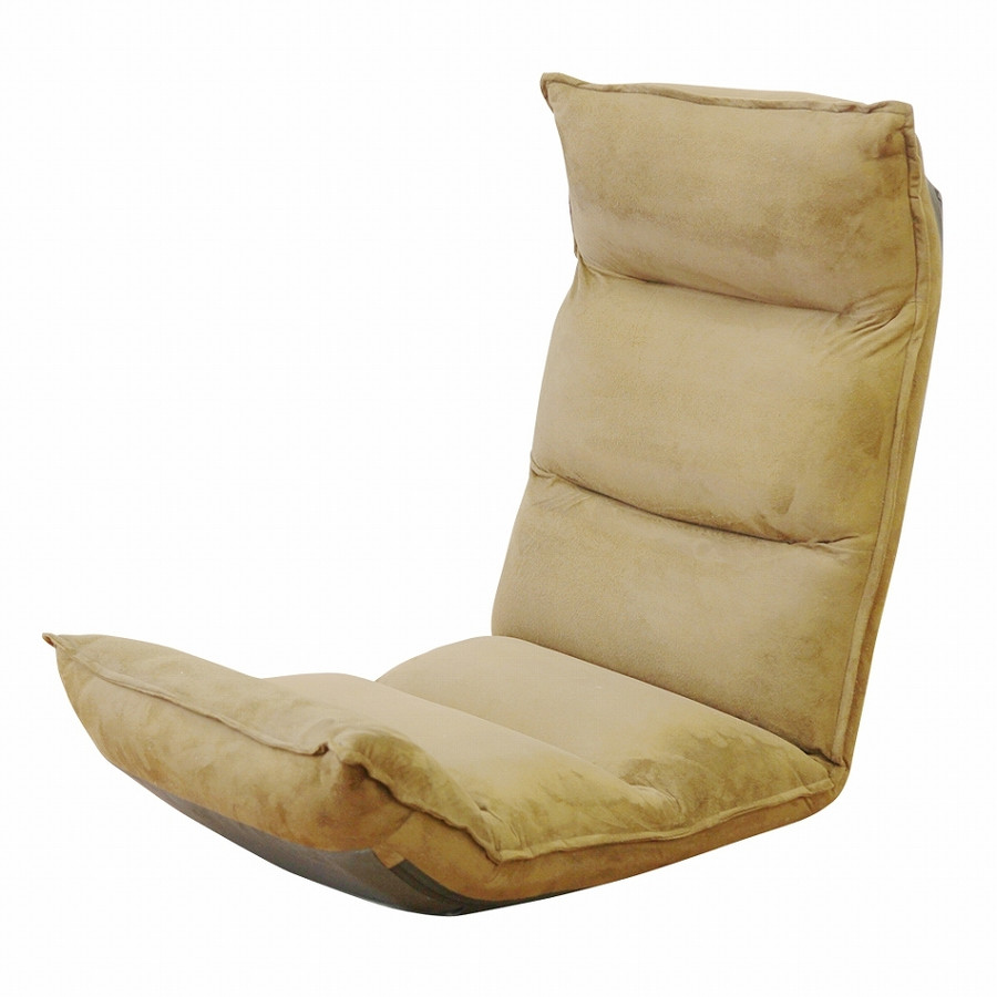 座椅子 リクライニング 低反発 ハイバック リラックス構造 メッシュ 全5色 日本製ギア コンパクト 高座椅子 チェア 1人掛け おしゃれ 腰痛 テレワーク 座いす weimall 21