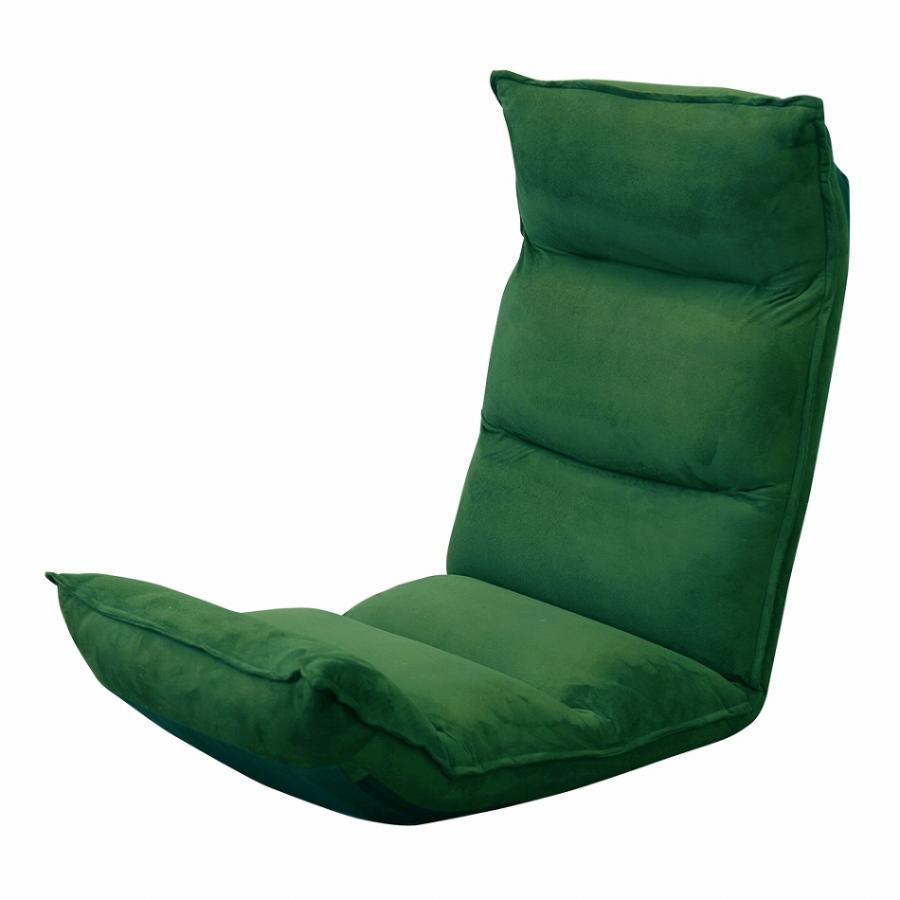 座椅子 リクライニング 低反発 ハイバック リラックス構造 メッシュ 全5色 日本製ギア コンパクト 高座椅子 チェア 1人掛け おしゃれ 腰痛 テレワーク 座いす weimall 23
