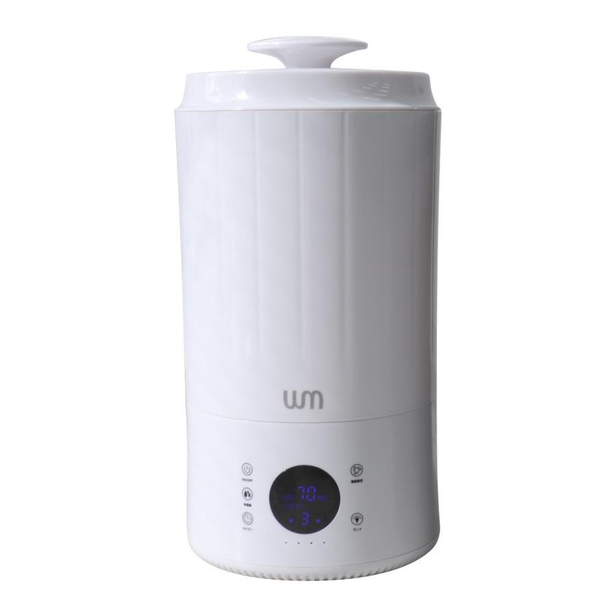 加湿器 超音波式 静音 大容量 最大10畳 3.8L タワー型 上から給水 タッチセンサー デジタル表示 加湿量調節可能 卓上 インテリア 手入れ簡単 weimall 15