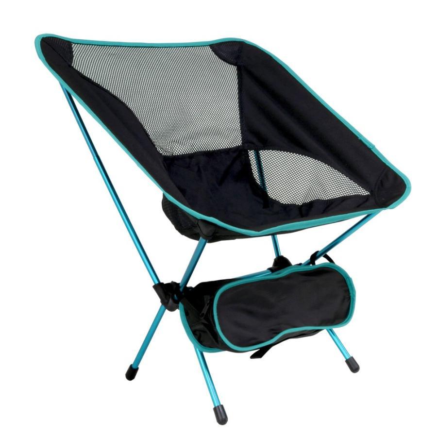 アウトドアチェア 全3色 収納ケース付き 耐荷重100kg 軽量1kg未満 背面メッシュ素材 コンパクト 折りたたみ 軽量 椅子 ベランピング 庭キャンプ MERMONT|weimall|15