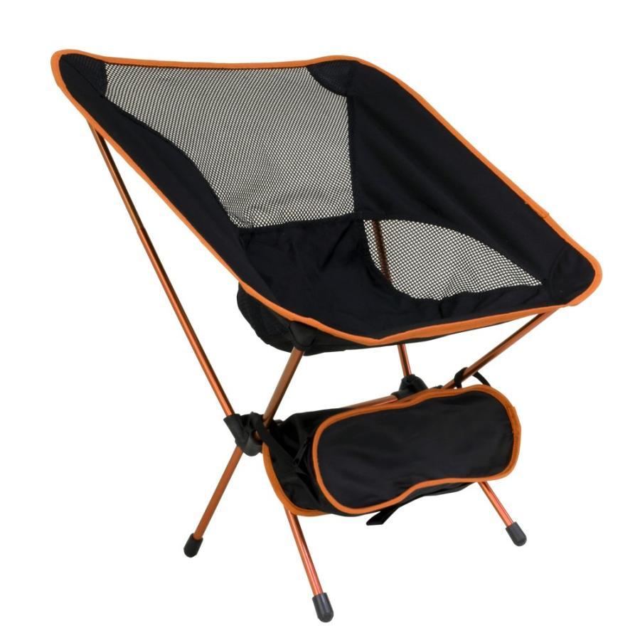アウトドアチェア 全3色 収納ケース付き 耐荷重100kg 軽量1kg未満 背面メッシュ素材 コンパクト 折りたたみ 軽量 椅子 ベランピング 庭キャンプ MERMONT|weimall|16