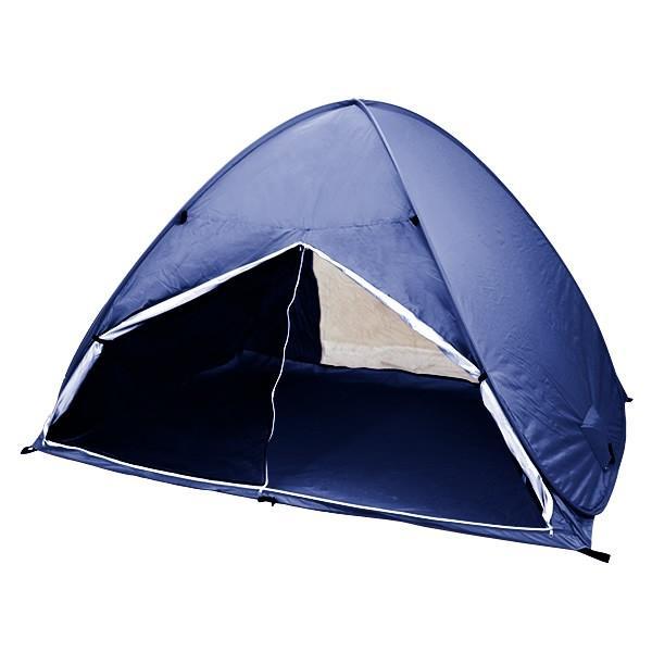 サンシェード テント ワンタッチ 2人用 3人用 日よけ メッシュ 200cm×150cm おしゃれ ポップアップテント ビーチテント フルクローズ weimall 19