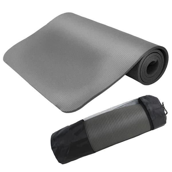 ヨガマット 10mm ホットヨガ ピラティス ストレッチ ダイエット 収納ケース付き 健康 器具 エクササイズ トレーニング 2本セット|weimall|08