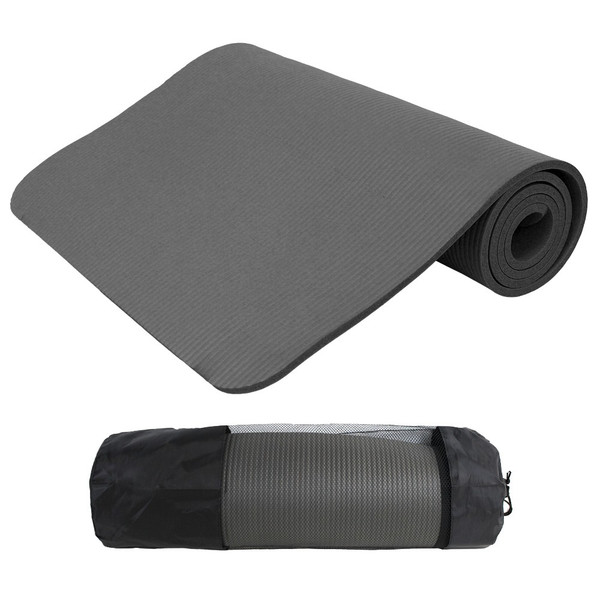 ヨガマット 8mm ホットヨガ ピラティス ストレッチ ダイエット 収納ケース付き 健康 器具 エクササイズ トレーニング|weimall|09