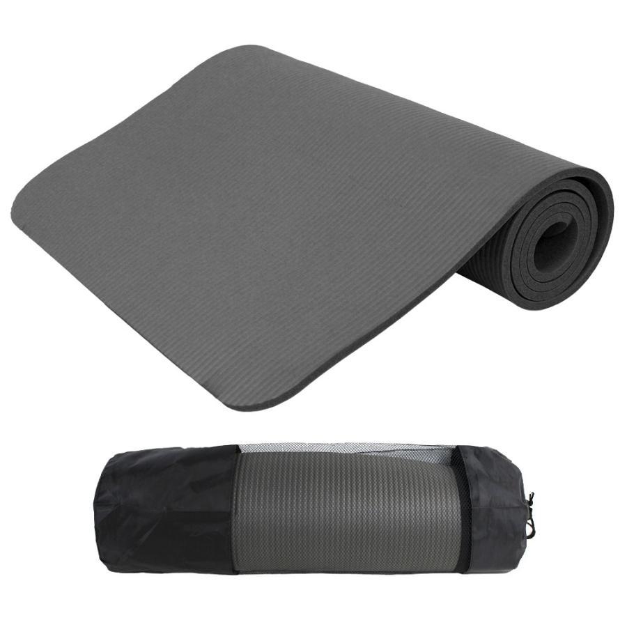 WEIMALL ヨガマット 8mm ホットヨガ ピラティス ストレッチ ダイエット 収納ケース付き 健康 器具 エクササイズ トレーニング|weimall|12