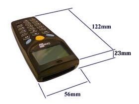ハンディターミナル 8001シリーズ サイファーラボ Cipher LAB 外形寸法図