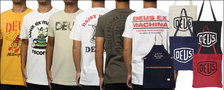 7月24日(月)DEUS夏の新作Tシャツ、トートバッグ、エプロンの新作11アイテムが入荷!数量限定ですのでお早めに!ヤマト運輸は期間限定!税込6,480円以上で送料無料でお届け致します!