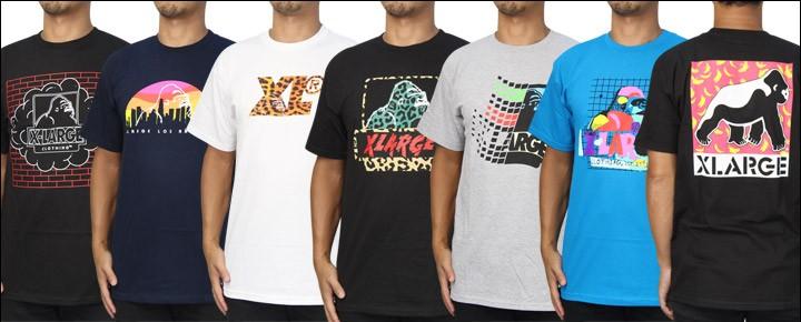 7月27日(木)XLARGE夏の新作Tシャツが入荷しました!数量限定ですのでお早めに!ヤマト運輸は期間限定!税込6,480円以上で送料無料でお届け致します!