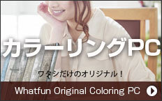 ワットファンオリジナル カラーリングパソコン