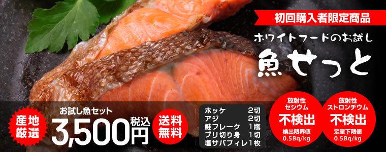 魚介 お試し 魚セット 4品目 真ほっけ アジ 紅鮭 鮭フレーク