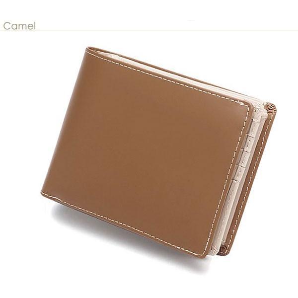 二つ折り財布 メンズ 大容量 カードたくさん入る 財布 新春財布 新年 革 名入れ ネーム入れ 本革 ボックス型 コンパクト シンプル 使いやすい|wide|17