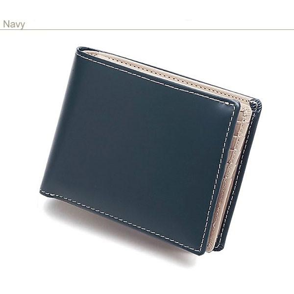 二つ折り財布 メンズ 大容量 カードたくさん入る 財布 新春財布 新年 革 名入れ ネーム入れ 本革 ボックス型 コンパクト シンプル 使いやすい|wide|19