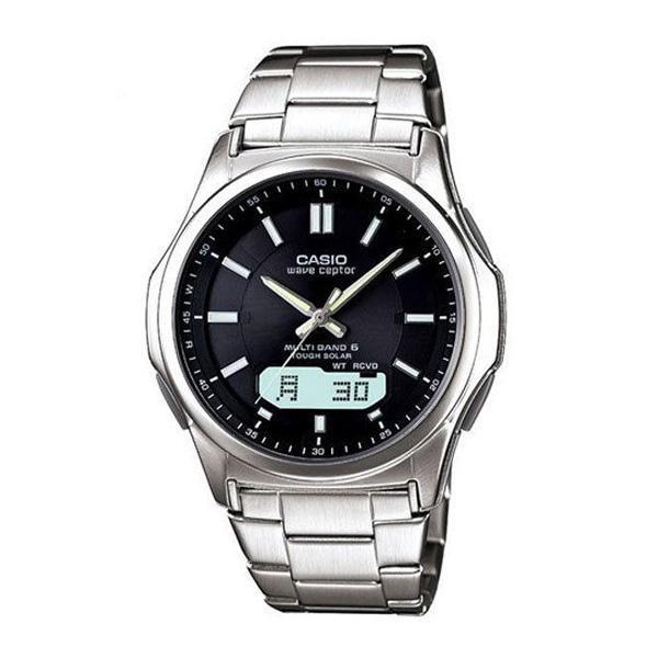 腕時計 メンズ 電波ソーラー カシオ アナログ 薄型 見やすい おしゃれ 男性用 紳士 日付 曜日 軽い 薄い ブランド CASIO じゅん散歩 ロッピング|wide|22