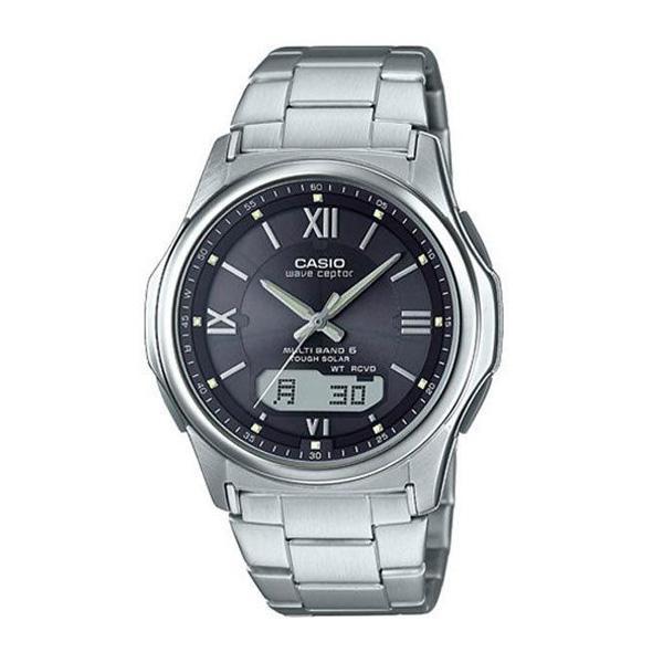 腕時計 メンズ 電波ソーラー カシオ アナログ 薄型 見やすい おしゃれ 男性用 紳士 日付 曜日 軽い 薄い ブランド CASIO じゅん散歩 ロッピング|wide|25