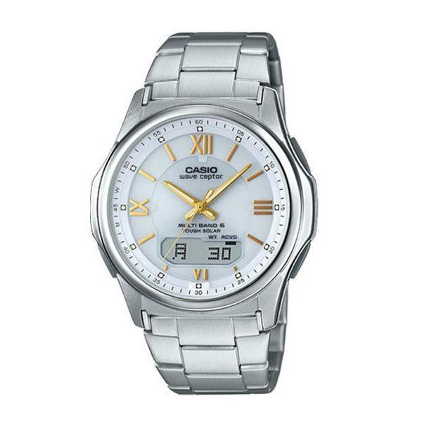 腕時計 メンズ 電波ソーラー カシオ アナログ 薄型 見やすい おしゃれ 男性用 紳士 日付 曜日 軽い 薄い ブランド CASIO じゅん散歩 ロッピング|wide|26