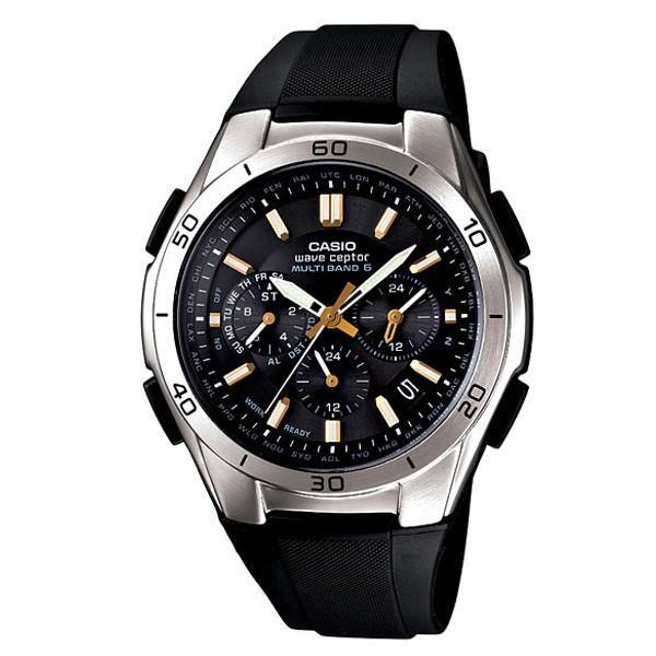 ソーラー電波腕時計 カシオ 軽量 クロノグラフ アナログ メンズ 電波ソーラー バックライト カシオ腕時計 メンズ  ラバーバンド ゴムバンド 防水 CASIO|wide|17