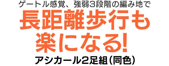 アシカール2足組(同色)