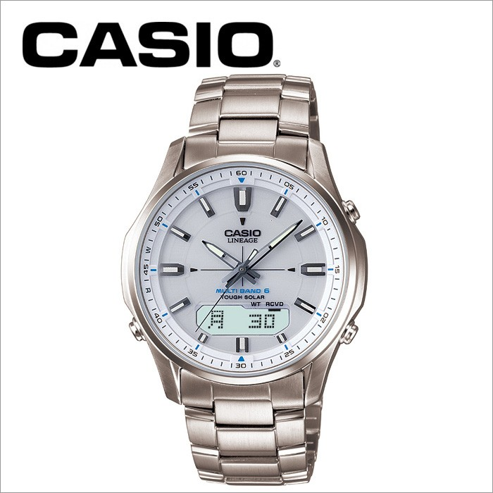 カシオ CASIO 電波ソーラー腕時計