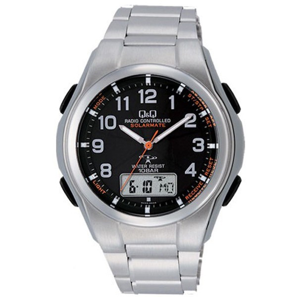 ソーラー電波腕時計 メンズ シチズン 新生活 プレゼント 父の日 電波時計 5局 海外対応モデル 10気圧防水 アナログ デジタル デジアナ 電波ソーラー CITIZEN|wide|23