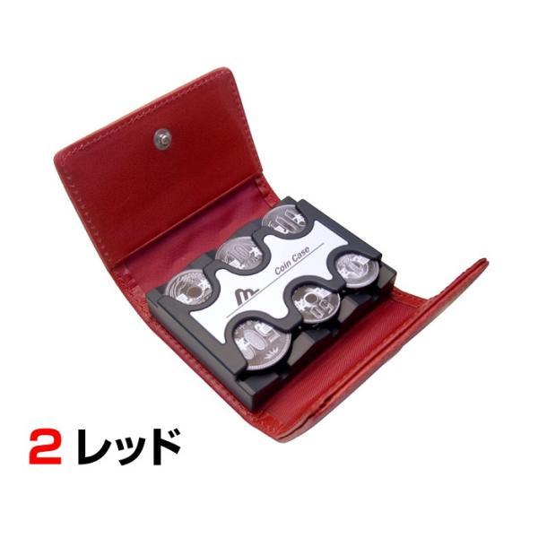 財布 小銭入れ メンズ コインケース コインキャッチャー 日本製 父の日 プレゼント 男性用 紳士用 コインキャッチャー付き財布 金具 コンパクト wide 05